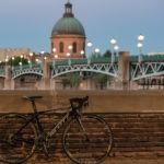 Vélo au pont Saint-Pierre